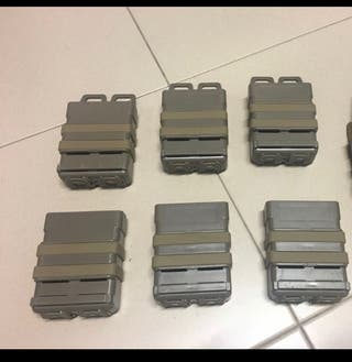 6x fast mags tan airsoft