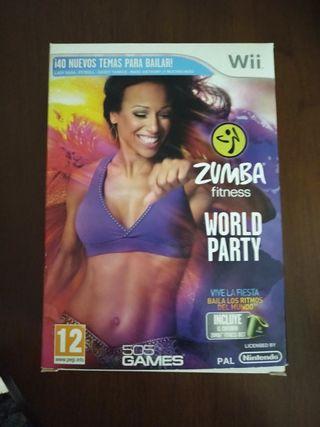 Zumba fitness para Wii