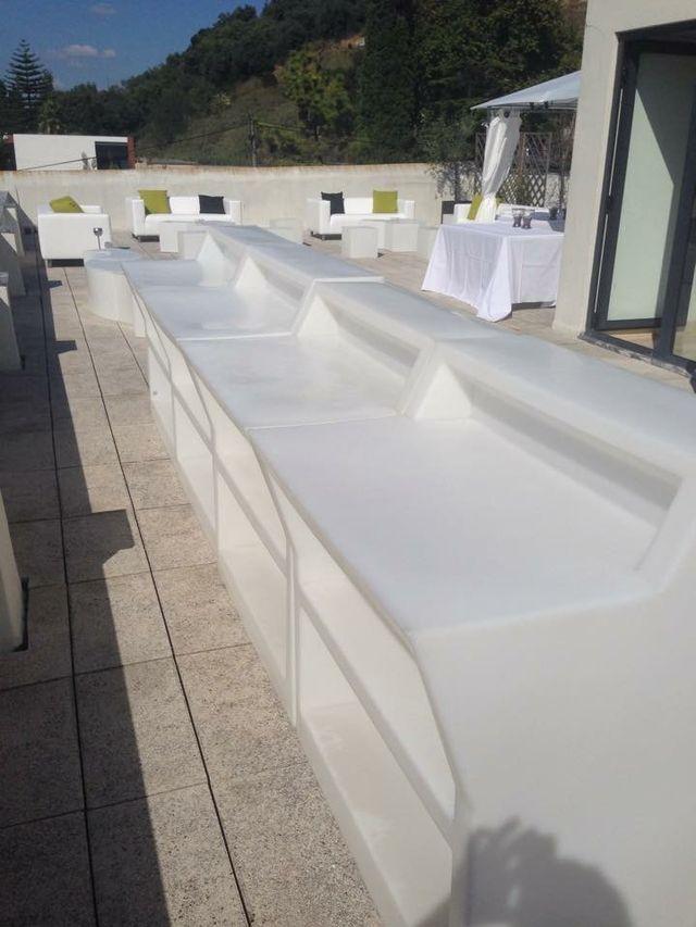 Barras de bar para terrazas