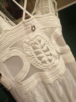 Vestido ibicenco novia gala fiesta verano /hippie
