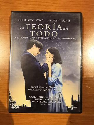 DVD LA TEORÍA DEL TODO