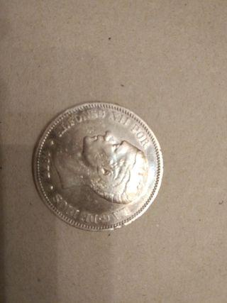 Moneda española de 5 pesetas de Alfonso XII 1877