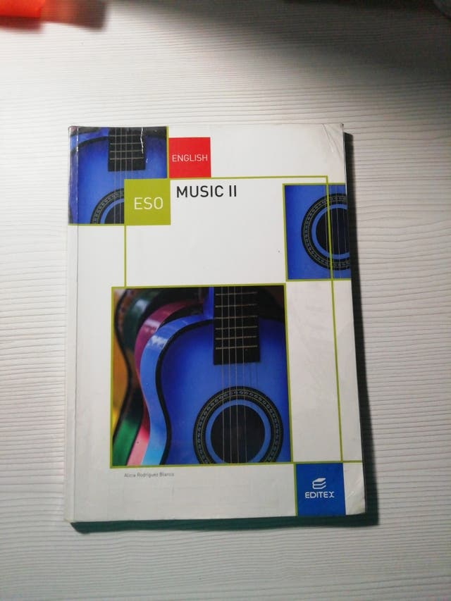 Libro Música en INGLÉS 3°ESO