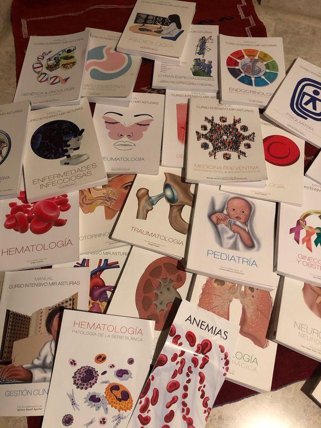Manuales MIR Asturias Curso 19/20