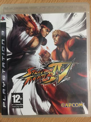 Street Fighter IV Ps3