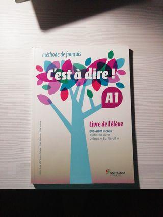 Libro de texto y de ejercicios de Francés A1