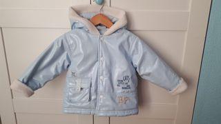 Abrigo azul, talla 2 años