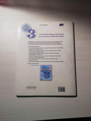 Libros de texto y de ejercicios de Francés 3°ESO
