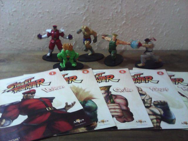 street fighter lote figuras de coleccion capcom
