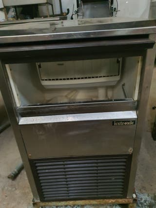 Deja wasap máquina hielo industrial