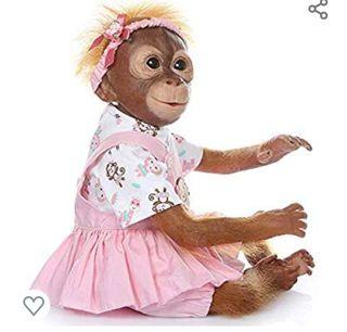 Bebe mono Reborn NUEVO