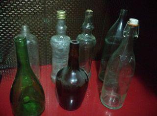 LIQUIDACION 7 botellas viejas