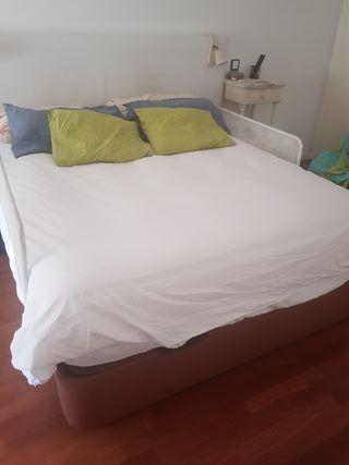 Canapé con almacenaje y colchón 150 pikolin