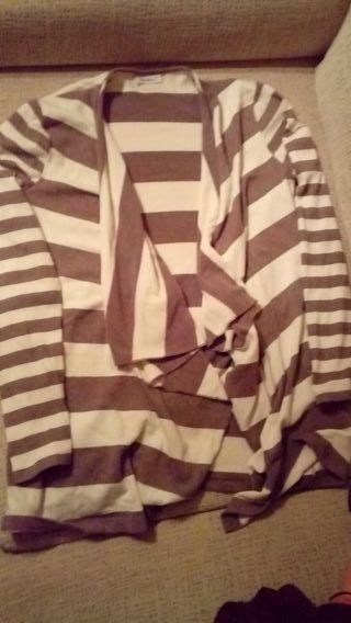 chaqueta mujer de rayas