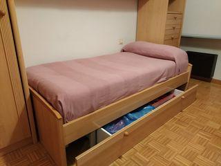 Dormitorio juvenil completo en perfecto estado