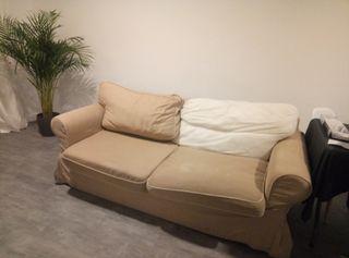 Sofá cama tres plazas ikea
