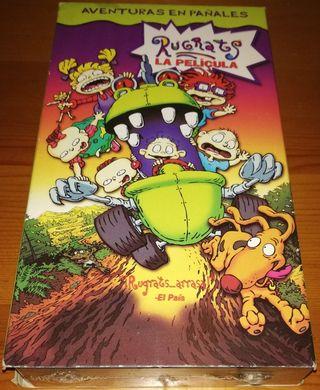 *nuevo*Los Rugrats: La Pelicula VHS