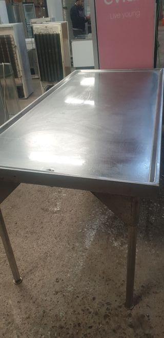 Deja wasappppp mesa de trabajo inox