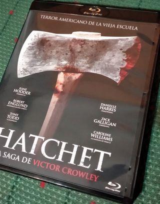 Edición especial 4 películas Hatchet, en Blu-ray