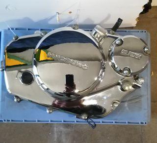 Tapa motor Hyosung Áquila GV 250 lado derecho.
