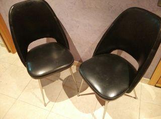LIQUIDACION!!! Pareja sillas vintage