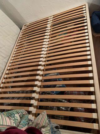 Somier-estructura cama