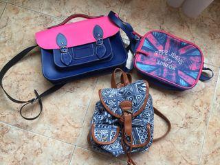 Bolso Pepe Jeans, mochila, cartera y peluches