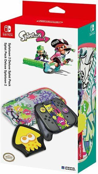 Pack accesorios Splatoon 2 Nintendo Switch
