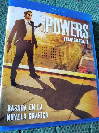 Primera temporada 1 serie Powers, en DVD