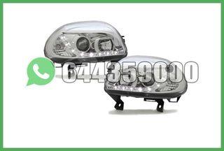 FAROS LED CROMO RENAULT CLIO 98-01