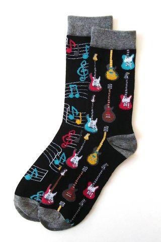 Calcetines de guitarra eléctrica