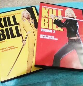 DVDs Kill Bill 1 y 2