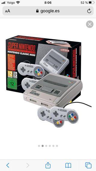 Nintendo Snes mini + Juegos adicionales