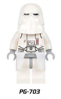 Snowtrooper Minifigures Star Wars Lego Comp.