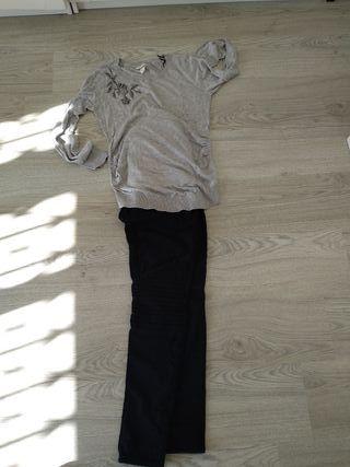 pantalón+jersei embarazo