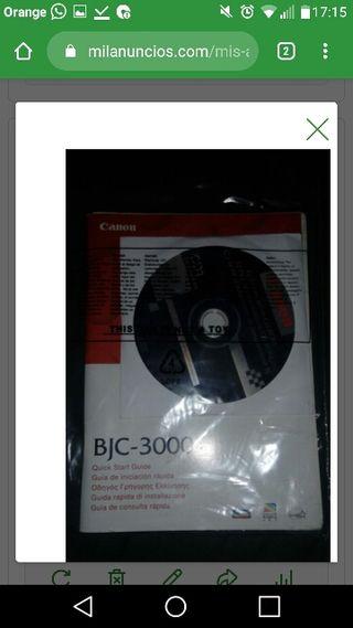 DRIVER IMPRESORA CANON BJC 3000 EN CD
