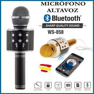 MICROFONO-ALTAVOZ Inalámbrico Bluetooth Radio USB