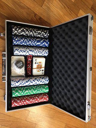 Maletín póker - 300 fichas