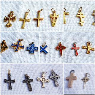 Colgante cruz crucifijo NUEVO A ESTRENAR