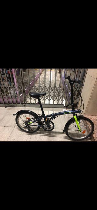 Bicicleta plegable TILT 120 20 pulgadas azul