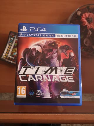 ps4 vr time carnage