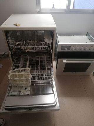 horno + lavavajillas