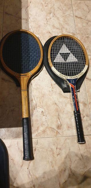 raquetas antiguas años 70/80