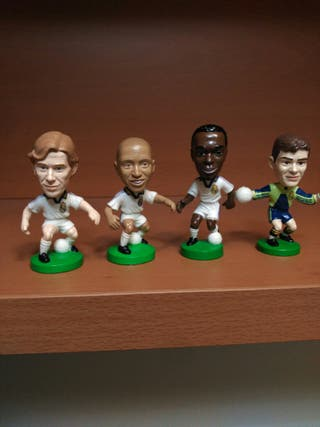Figuras Real Madrid año 2001 Retro