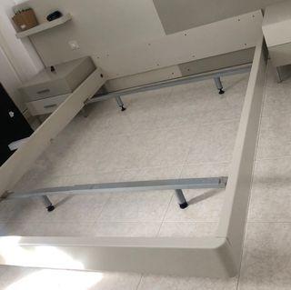 Cama -colchón-somier 1,50