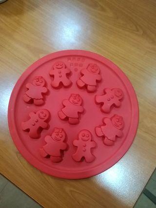 molde silicona para galletas dulces jabones etc