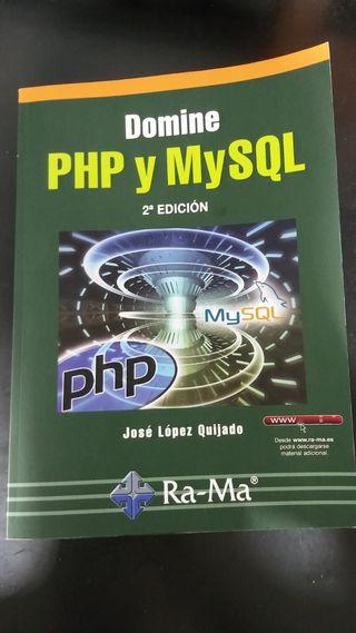Libro programación PHP y MySQL