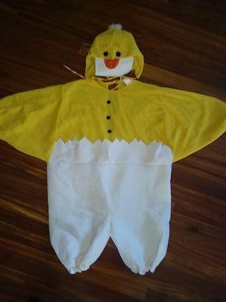 disfraz pollo carnaval