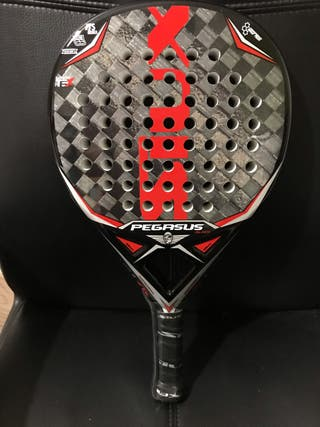 Pala de padel siux Pegasus black Edition luxury