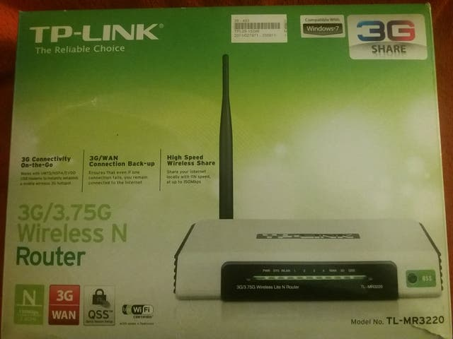Router 3G TP-LINK